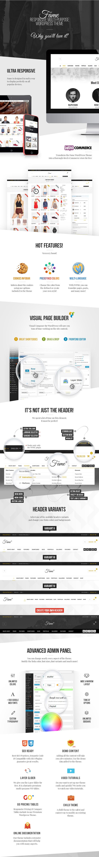 WordPress theme Fame - Responsive MultiPurpose WordPress Theme (Fashion)