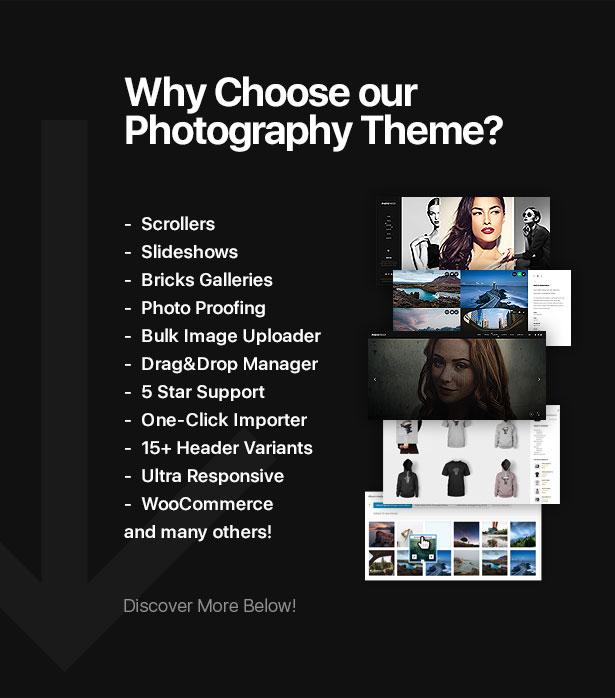 PhotoProof | Photography Responsive WordPress Theme - 3