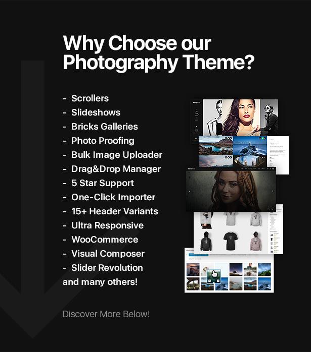 photoproof   photography responsive wordpress theme (photography) PhotoProof   Photography Responsive WordPress Theme (Photography) 1