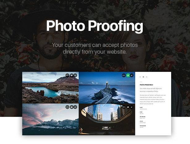 PhotoProof | Photography Responsive WordPress Theme - 7