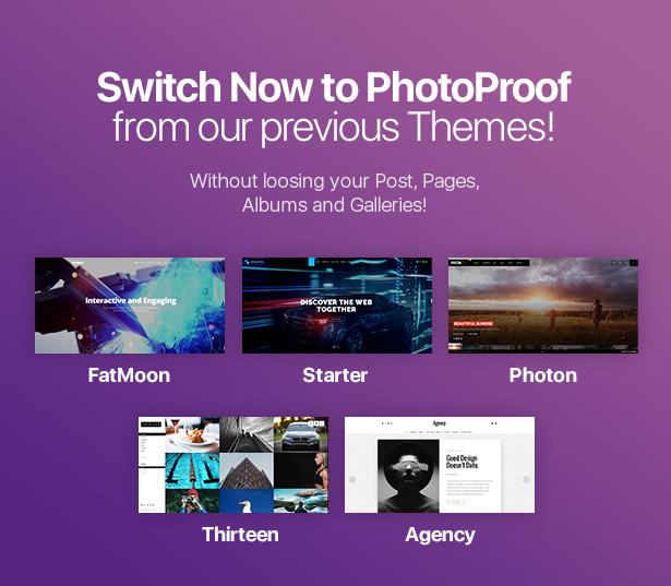 PhotoProof | Photography Responsive WordPress Theme - 4